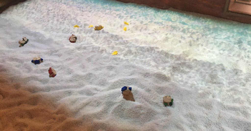 屋内・冒険の島ドコドコ 小さな砂浜