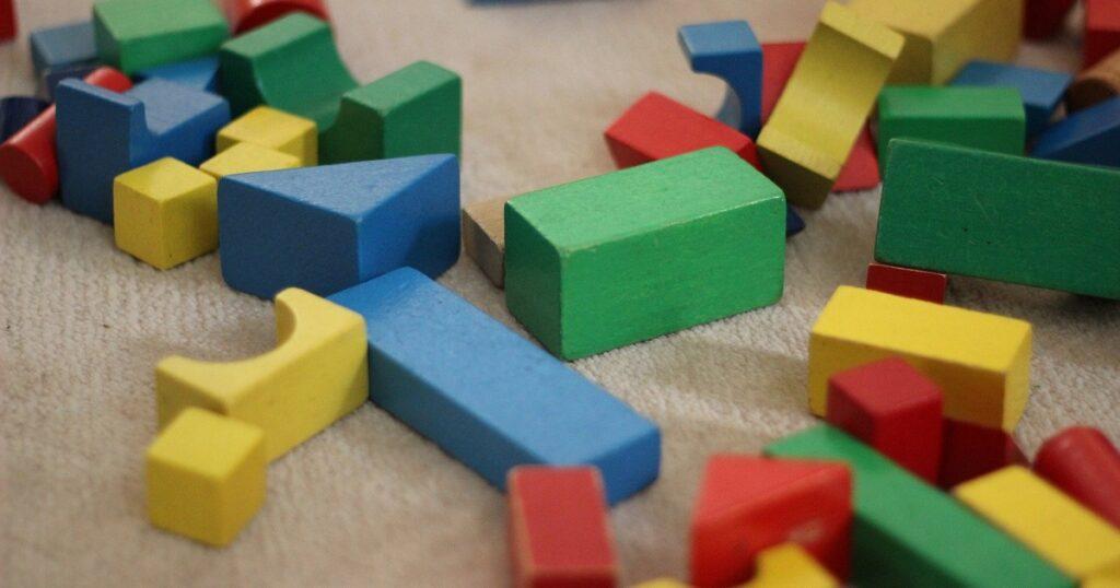 カラフルなブロック